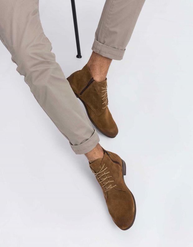 נעלי גברים - Sneaky Steve - נעל DIRTY MID SUEDE - חום