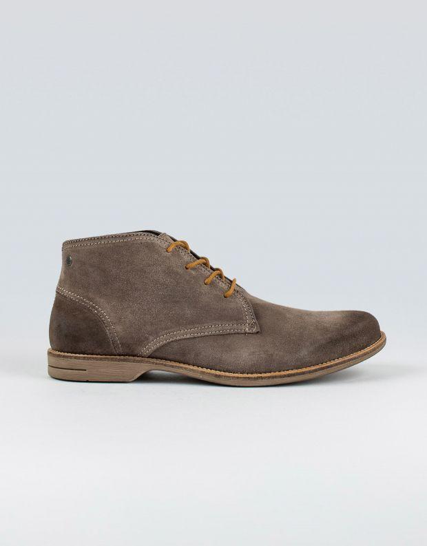 נעלי גברים - Sneaky Steve - נעלי זמש FALL MID SUEDE - אפור