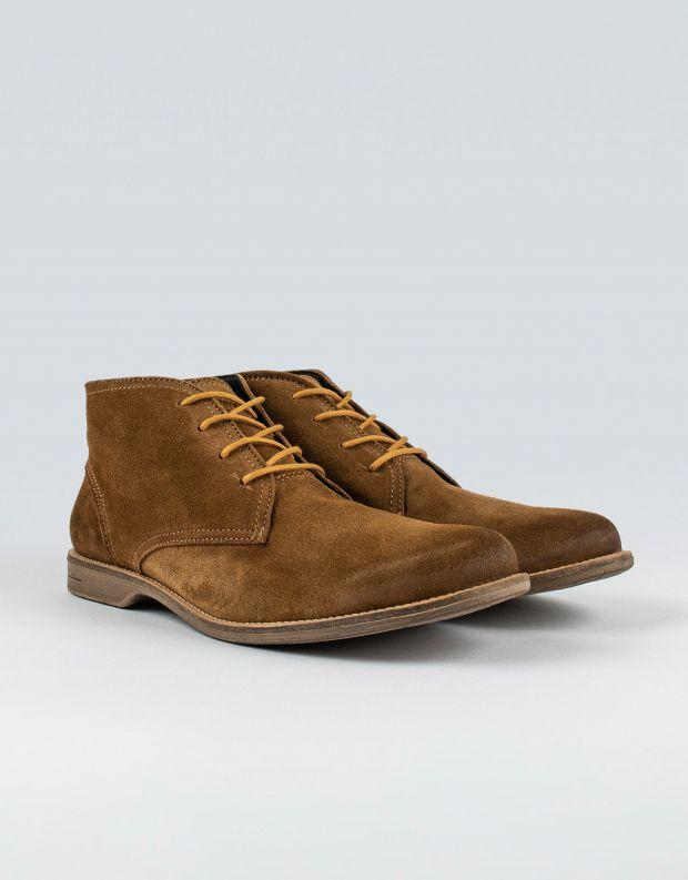 נעלי גברים - Sneaky Steve - נעלי זמש FALL MID SUEDE - חום