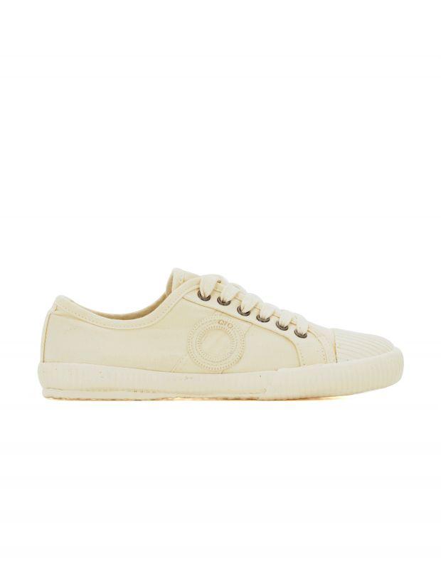 נעלי גברים - Aro - סניקרס בד CHARLIE - לבן