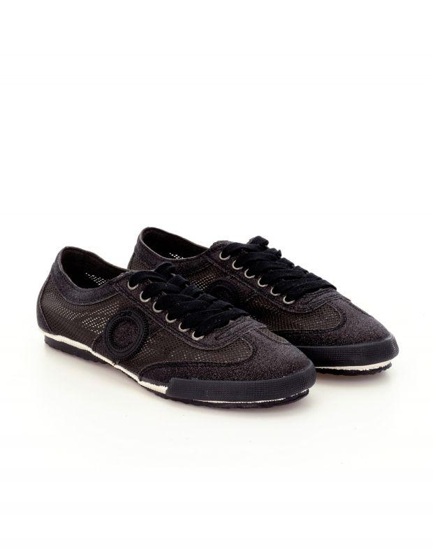 נעלי נשים - Aro - סניקרס JOANETA GLITTER - שחור