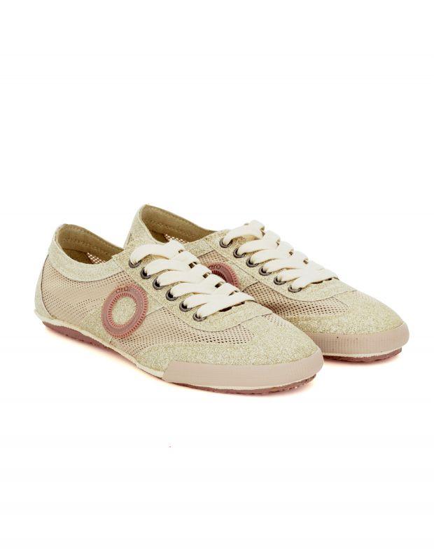 נעלי נשים - Aro - סניקרס JOANETA GLITTER - זהב