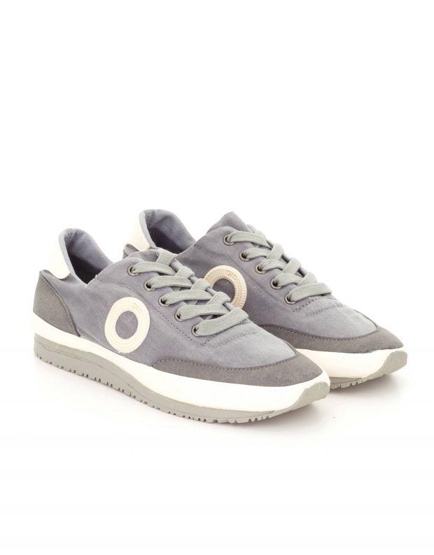 נעלי גברים - Aro - סניקרס בד JAQ - אפור בהיר