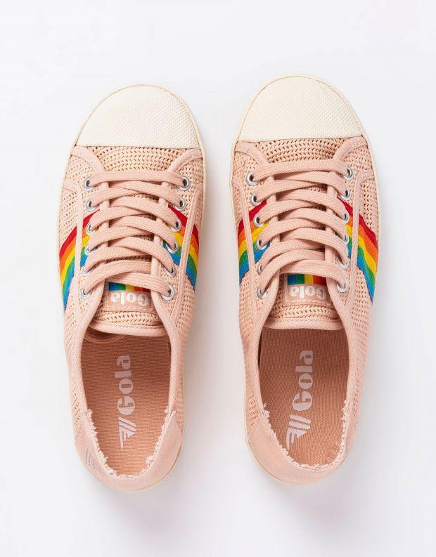 נעלי נשים - Gola - סניקרס COASTER RAINBOW WE - ורוד
