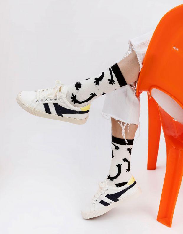נעלי נשים - Gola - סניקרס TENNIS MARK COX - לבן   כחול