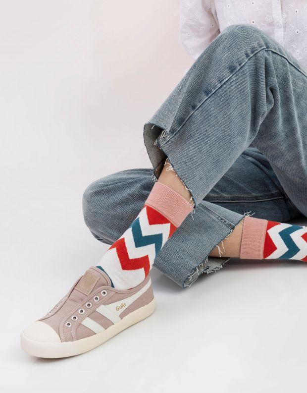נעלי נשים - Gola - סניקרס COASTER SLIP - ורוד
