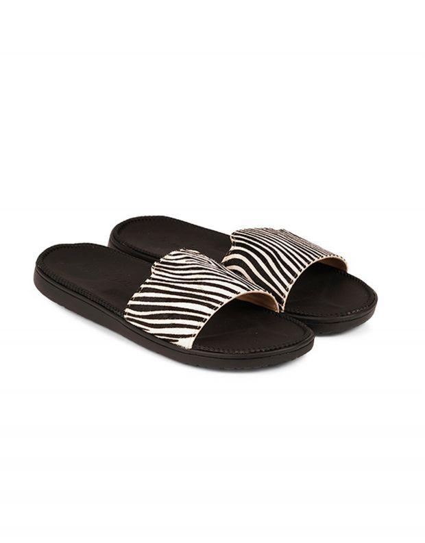 נעלי נשים - Lovelies - כפכפים DIANI - זברה