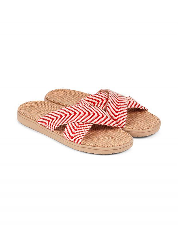 נעלי נשים - Lovelies - כפכפי איקס מבד MOLONA - אדום