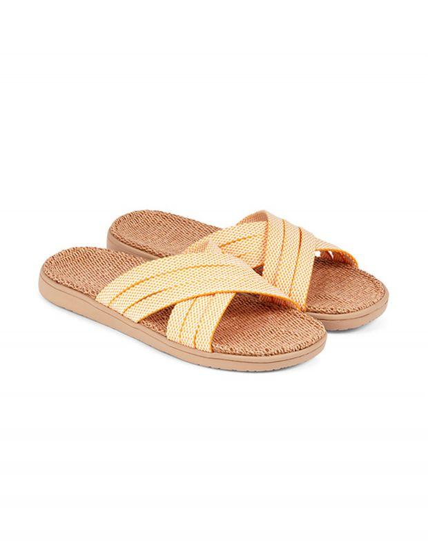 נעלי נשים - Lovelies - כפכפי בד POLHENA - צהוב