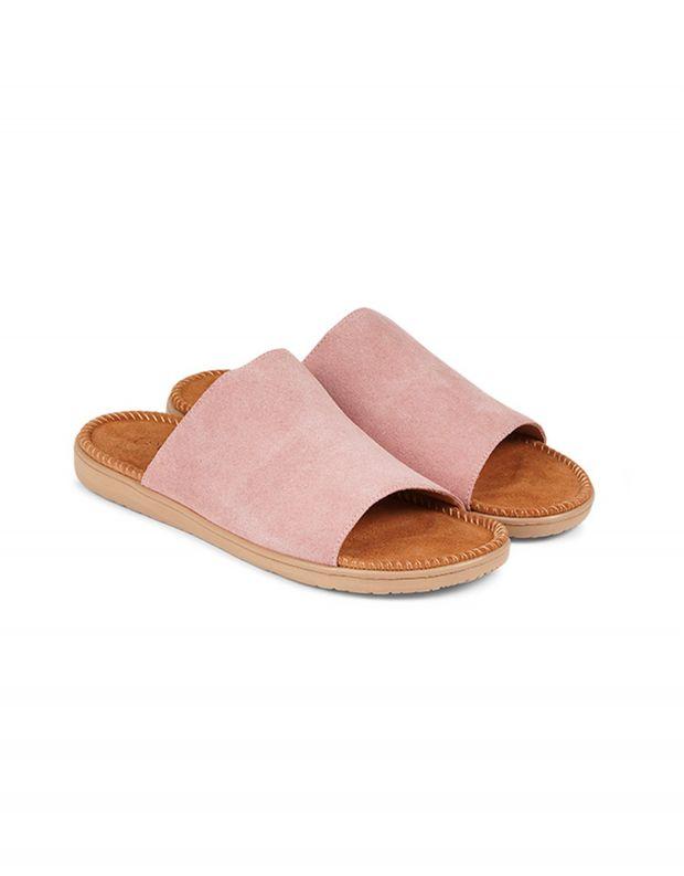 נעלי נשים - Lovelies - כפכפי זמש SALECCIA - ורוד בהיר