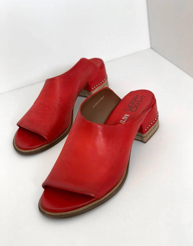 נעלי נשים - A.S. 98 - כפכפי עקב MORAINE - אדום