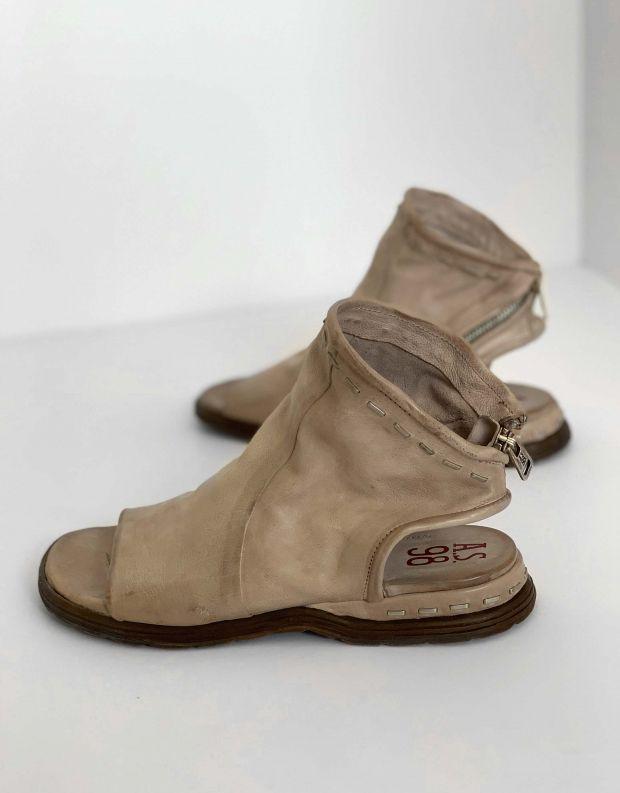 נעלי נשים - A.S. 98 - סנדלי סיכות סגורים MARE - אפור
