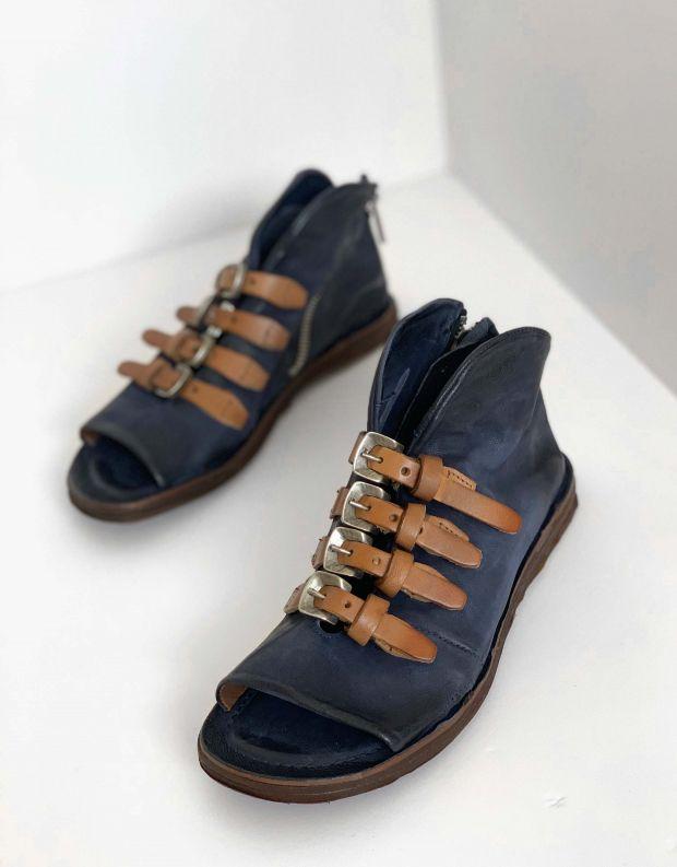 נעלי נשים - A.S. 98 - סנדלים סגורים RAMOS - כחול