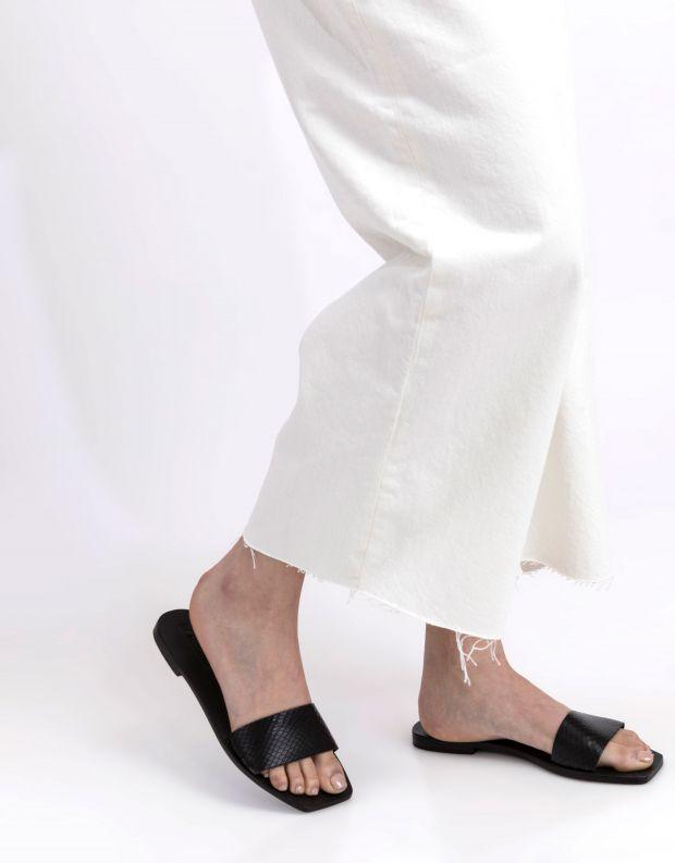 נעלי נשים - SOL SANA - כפכפים שטוחים GISELLE - שחור