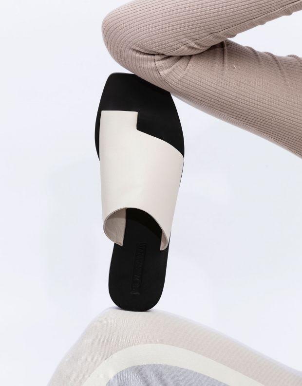 נעלי נשים - SOL SANA - כפכפים שטוחים JESSIE - לבן