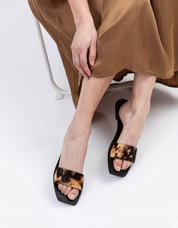 נעלי נשים - SOL SANA - כפכפים שטוחים GISELLE - נחש