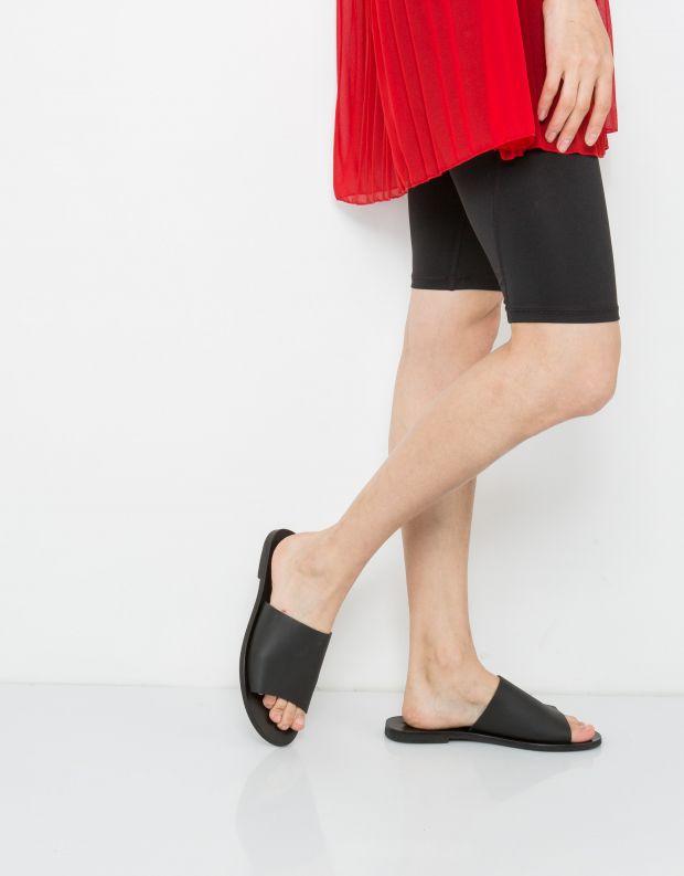 נעלי נשים - SOL SANA - כפכפים שטוחים TERESA - שחור