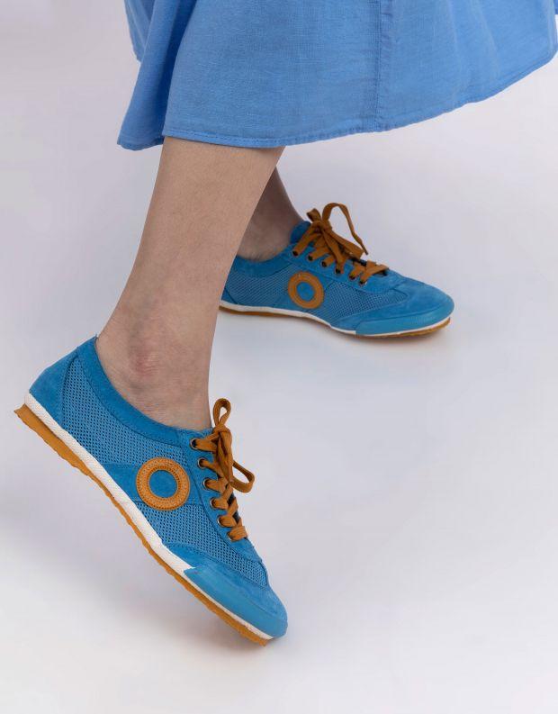 נעלי נשים - Aro - סניקרס JOANETA - כחול   כתום