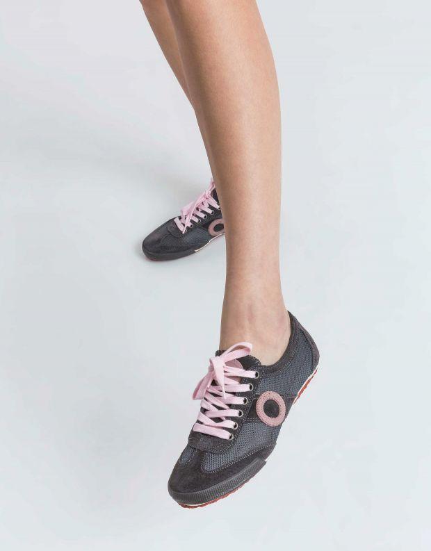 נעלי נשים - Aro - סניקרס JOANETA - אפור   ורוד