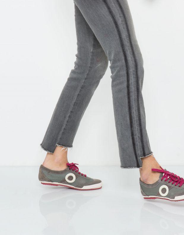 נעלי נשים - Aro - סניקרס JOANETA - אפור   לבן