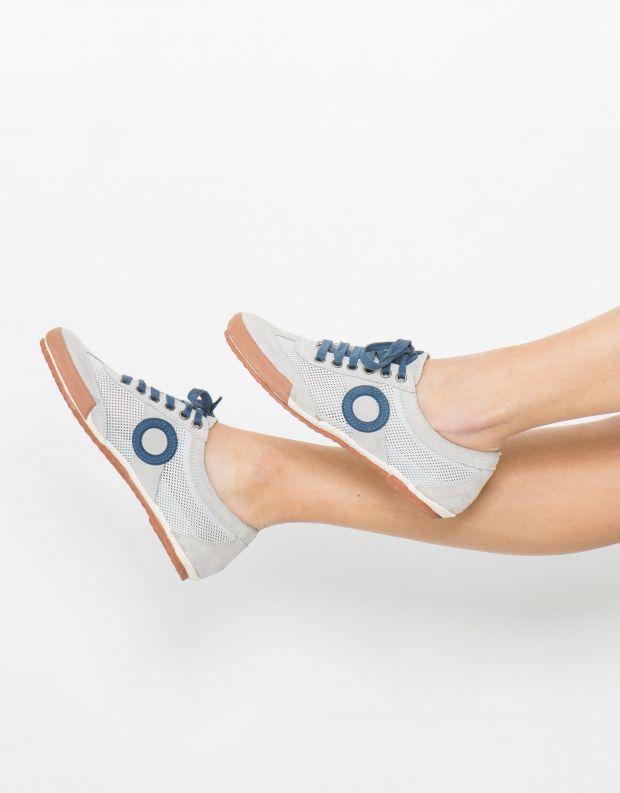 נעלי נשים - Aro - סניקרס JOANETA - אפור   כחול