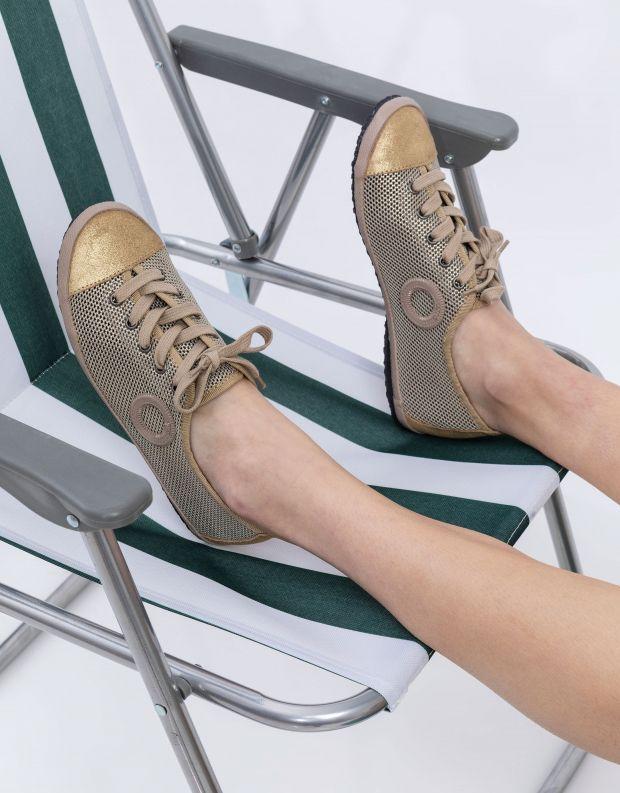 נעלי נשים - Aro - סניקרס HOLLY - זהב