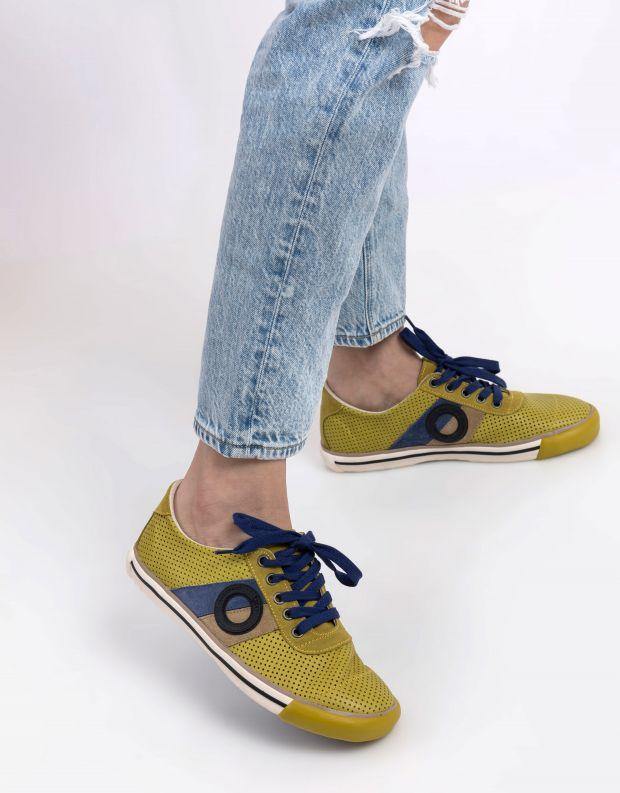 נעלי נשים - Aro - סניקרס POL - צהוב