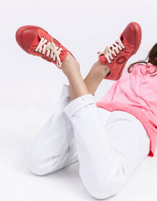 נעלי נשים - Aro - סניקרס בד CHARLIE - אדום