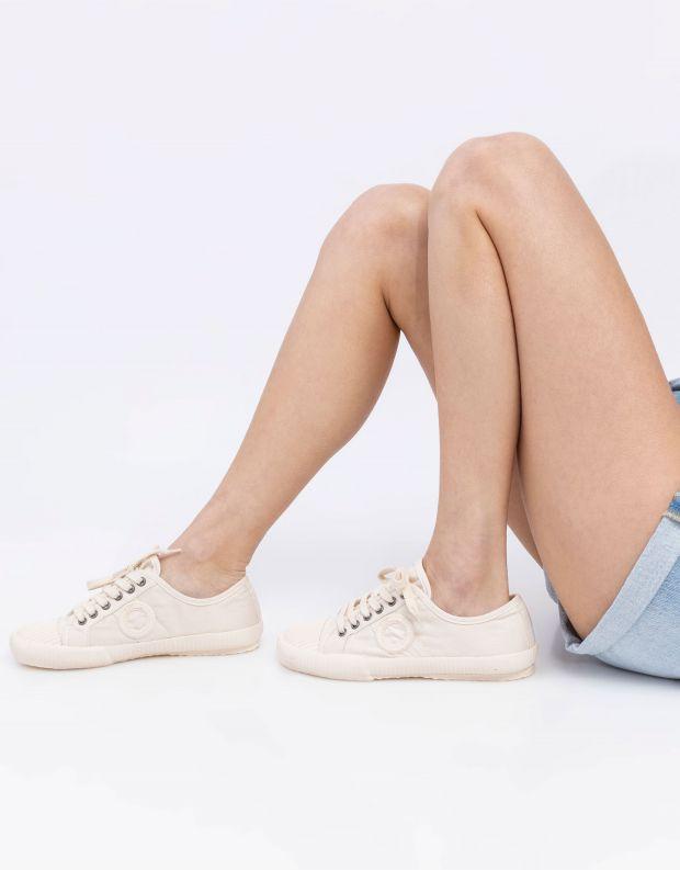 נעלי נשים - Aro - סניקרס בד CHARLIE - לבן