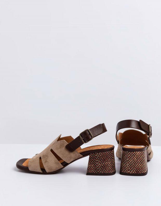 נעלי נשים - Chie Mihara - סנדלים OPRA - חום בהיר