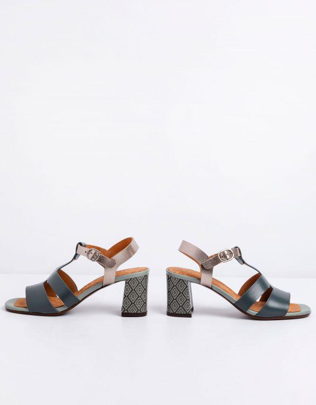 נעלי נשים - Chie Mihara - סנדלי עקב LURATA - כחול