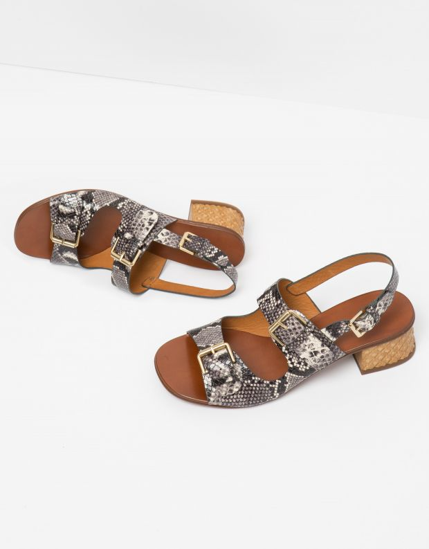 נעלי נשים - Chie Mihara - סנדל QUERINA - נחש