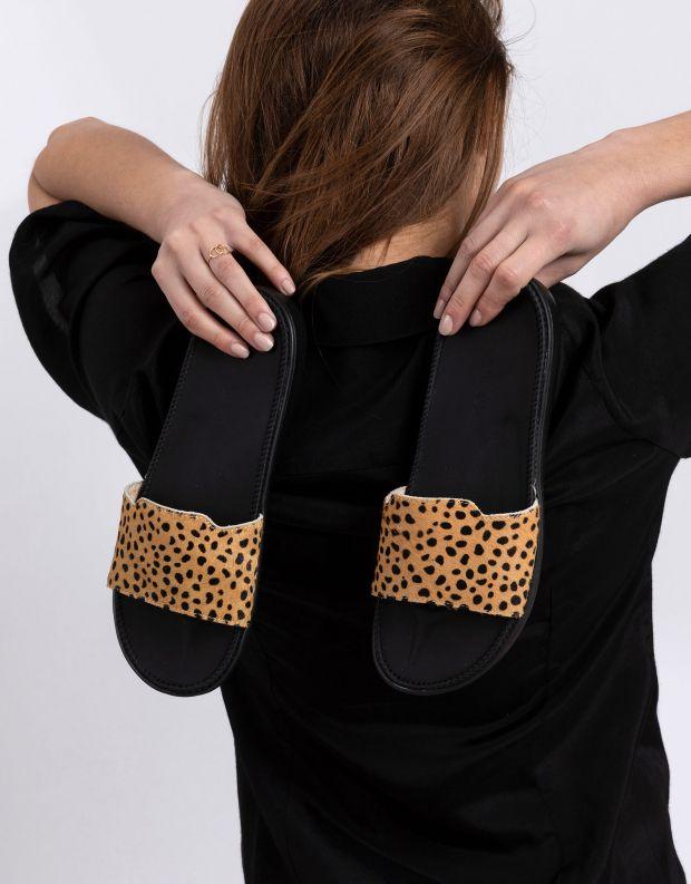 נעלי נשים - Lovelies - כפכפים DIANI - בז'   שחור