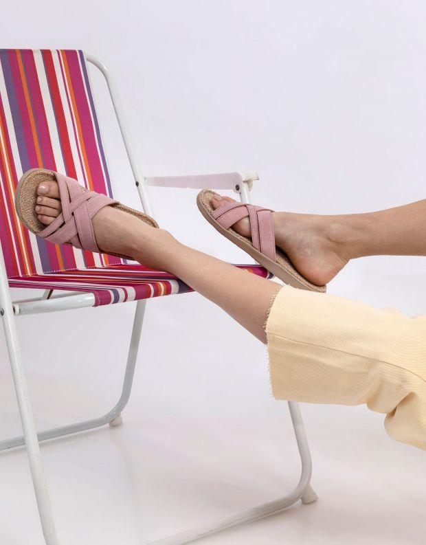 נעלי נשים - Lovelies - כפכפי זמש איקס CAVALLET - ורוד בהיר