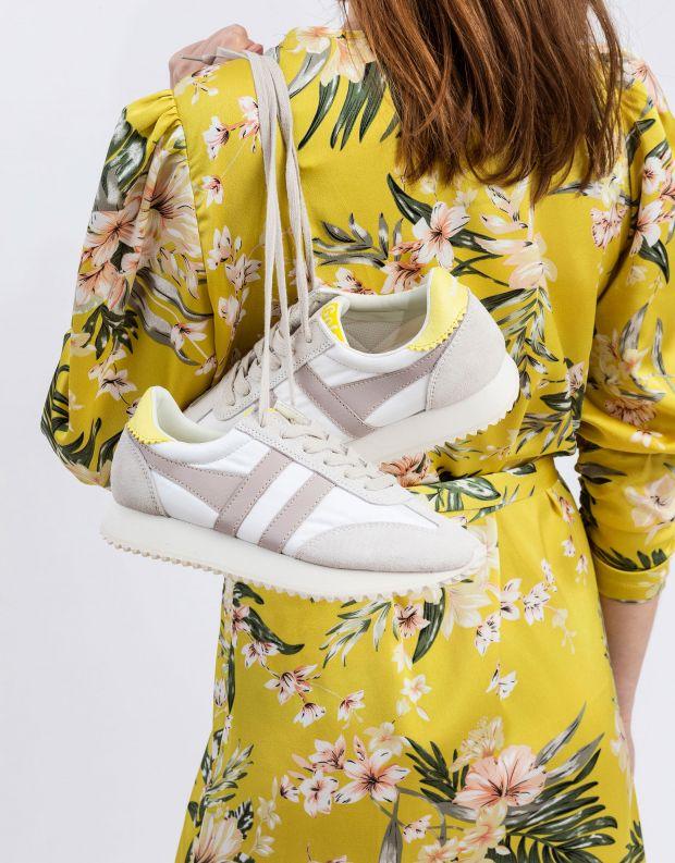 נעלי נשים - Gola - סניקרס BOSTON 78 - לבן   ורוד