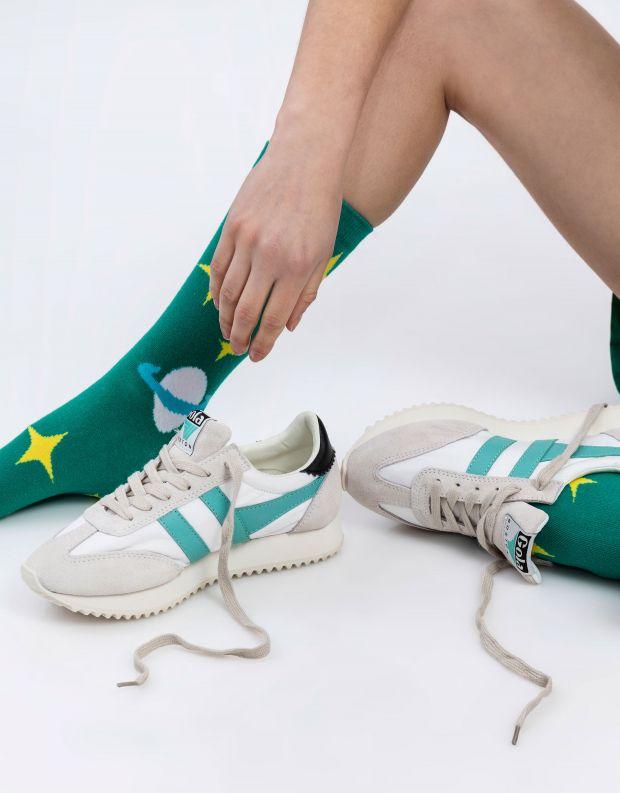 נעלי נשים - Gola - סניקרס BOSTON 78 - לבן   טורקיז