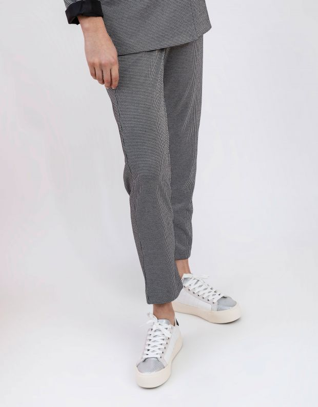 נעלי נשים - Gola - סניקרס OQCHID PLATFORM VI - לבן   כסף