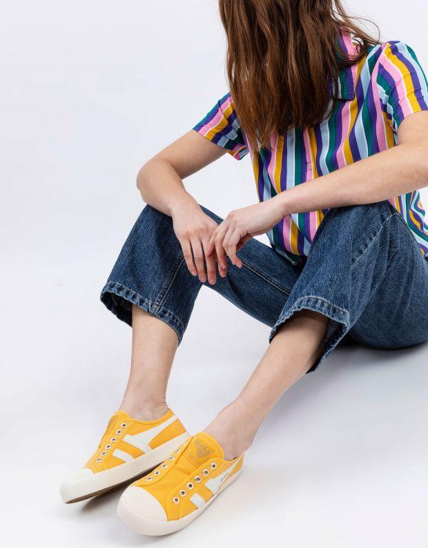 נעלי נשים - Gola - סניקרס COASTER SLIP - צהוב
