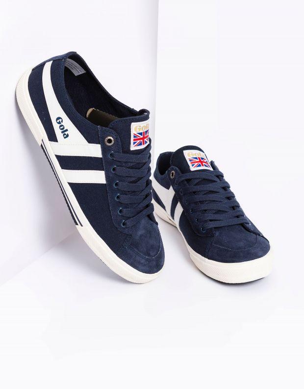 נעלי גברים - Gola - סניקרס SUPER QUARTER - כחול   לבן