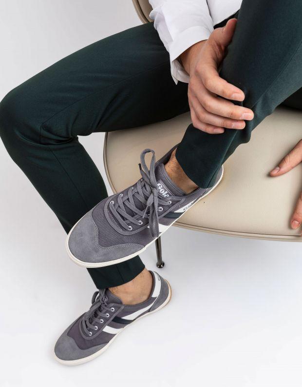 נעלי גברים - Gola - סניקרס BADMINTON - אפור   כחול