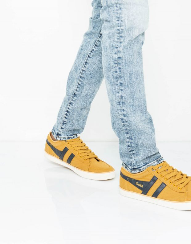 נעלי גברים - Gola - סניקרס COMET - צהוב