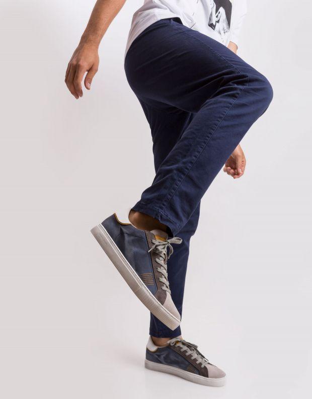 נעלי גברים - Crime London - סניקרס BEAT משולב - כחול   אפור