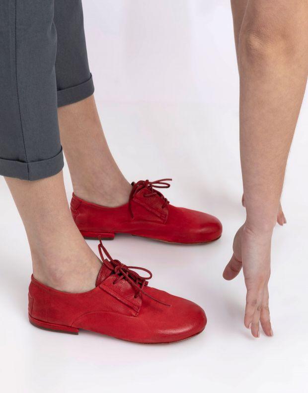 נעלי נשים - A.S. 98 - נעלי דרבי MERI - אדום