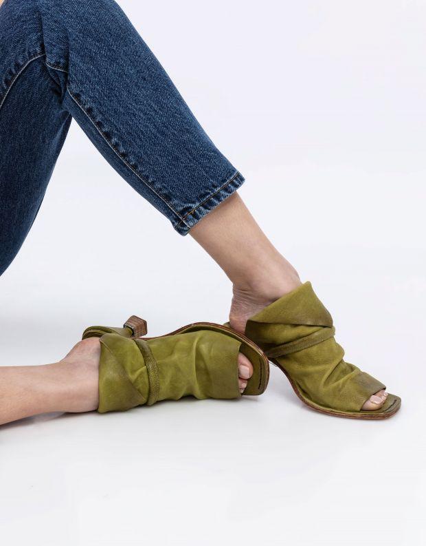 נעלי נשים - A.S. 98 - כפכפי עקב HEAR - ירוק