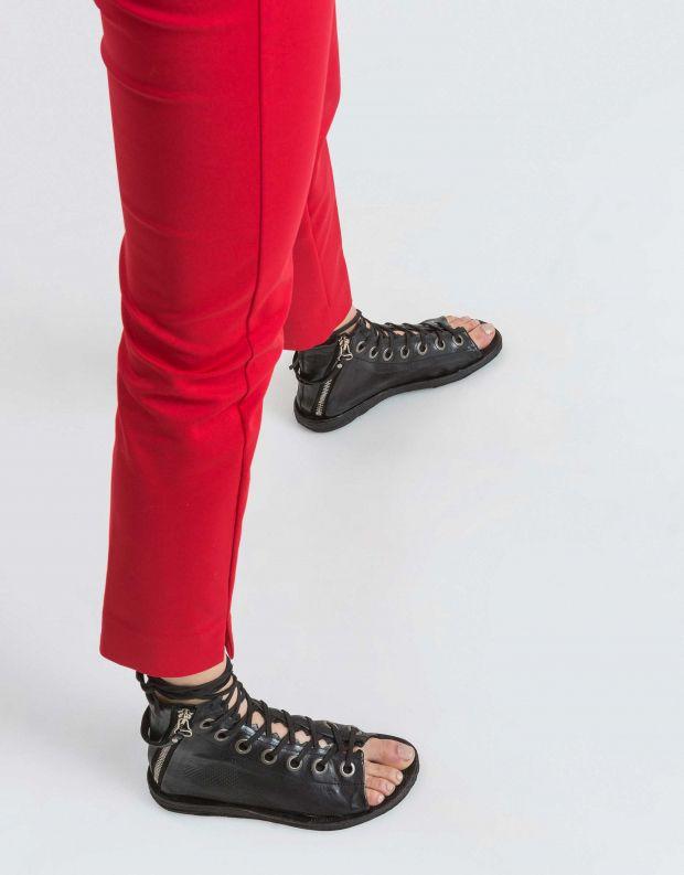 נעלי נשים - A.S. 98 - סנדל גבוה RAMOS שרוך - שחור