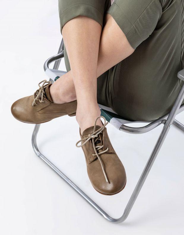 נעלי נשים - A.S. 98 - נעלי דרבי MERI - חאקי