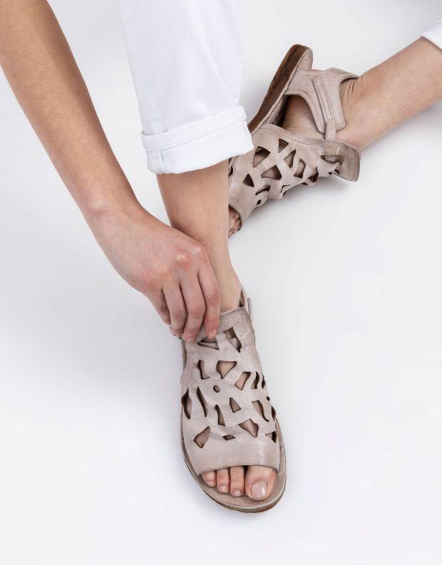 נעלי נשים - A.S. 98 - סנדלים עם חיתוכים RAMOS - אפור