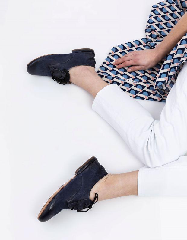 נעלי נשים - A.S. 98 - נעלי דרבי MERI - כחול