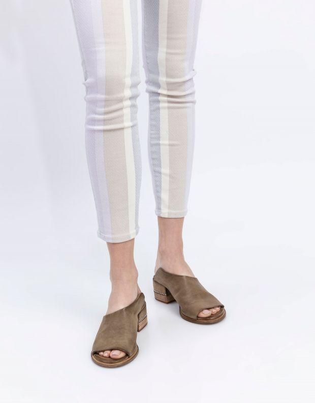 נעלי נשים - A.S. 98 - כפכפי עקב MORAINE - חאקי