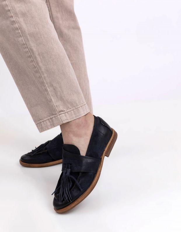 נעלי נשים - A.S. 98 - מוקסינים ZEPORT - כחול